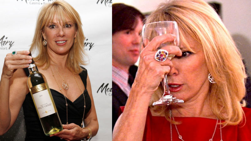 JUST ANOTHER DAY: 'Real Housewife' Ramona Singer Thrown Out of Dinner Party! image