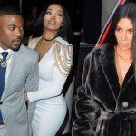 Kardashian Klan Babysits Sad North West While Kim Monitors Kanye image