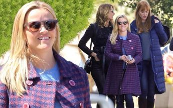 Reese Witherspoon Leads 'BIG LITTLE LIES' Women to Lunch
