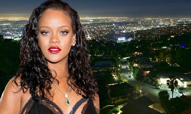WHO'S THERE??? Alarm Goes Off at Rihanna's House! image