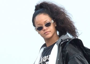Barbados For The Holidays? Disheveled Rihanna Departs Jet in Bridgetown!