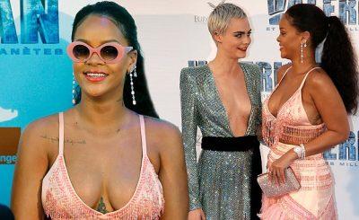 Rihanna is a Parrot at 'Valerian' Paris Premiere