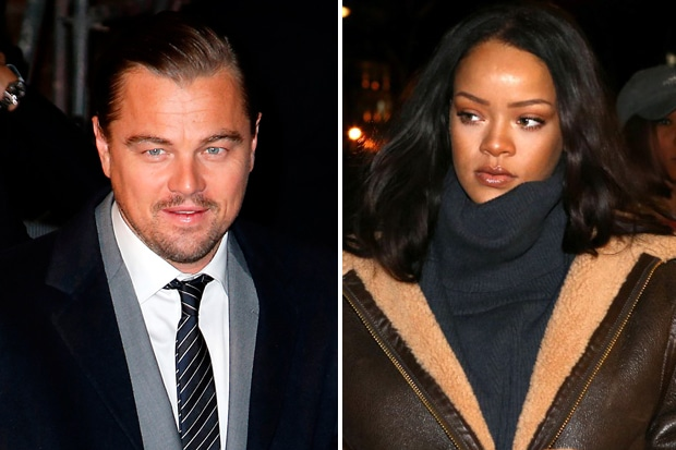EX-Collision: Rihanna Looks Distressed as She Crashes Into Former-Flame Leonardo DiCaprio During Dinner Date in NYC image