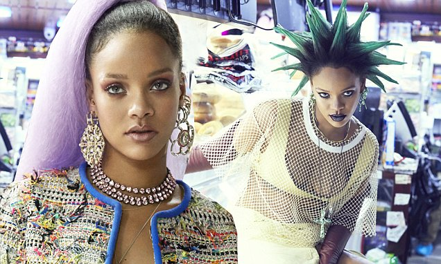 Rihanna is a NUDE REBEL WOMAN on the Cover of Paper Magazine