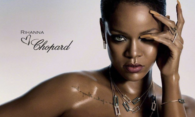 Rihanna Collaborates With Chopard on New Jewelry ...