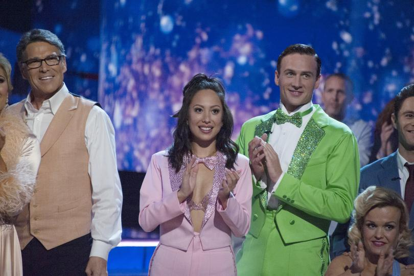 Ryan Lochte Dances to MUPPET SHOW Theme on 'Dancing With the Stars' image