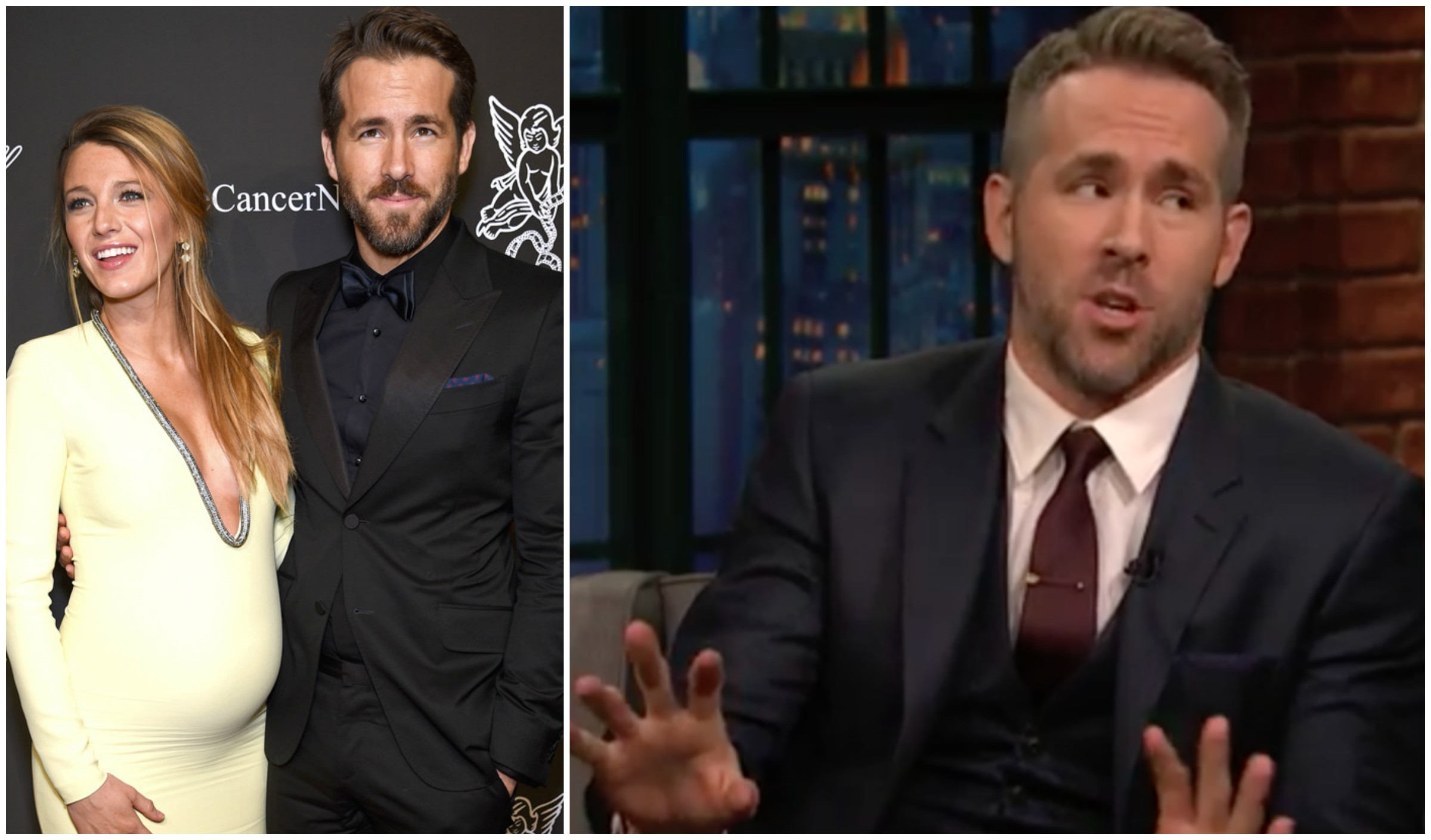 PUSH IT: Ryan Reynolds Shares Tips for Women in LABOR! image