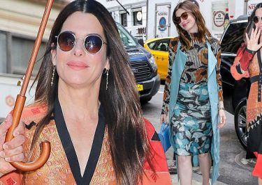 'Ocean's Eight' Movie Stars Leave Hotel After PRESS Junket!