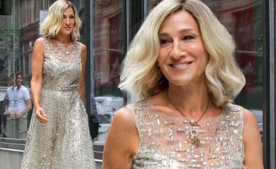 Sarah Jessica Parker Has Short Blonde Hair For 'Best Day Of My Life'