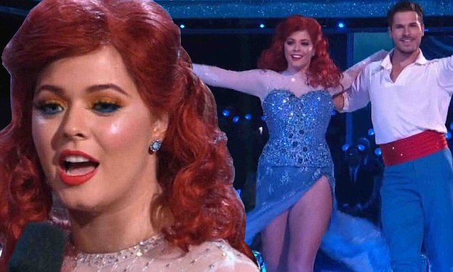 Sasha Pieterse Reveals Weight Loss on 'Dancing With the Stars' image