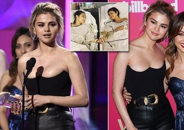 Selena Gomez Accepts WOMAN OF THE YEAR Award in Hollywood!
