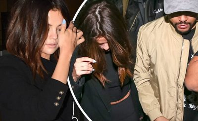 Selena Gomez and THE WEEKND Make Way Through Brazilian Airport!