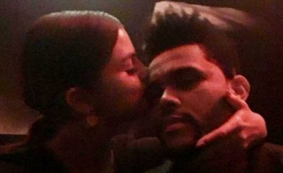 Selena Gomez and The WEEKND Get Cozy at a Birthday Party