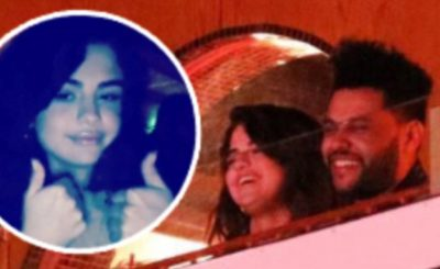 SELENA GOMEZ x The Weeknd Date Night @ Laugh Factory