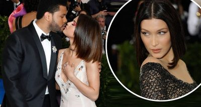 Selena Gomez & The Weeknd PDA @ MET GALA 2017!