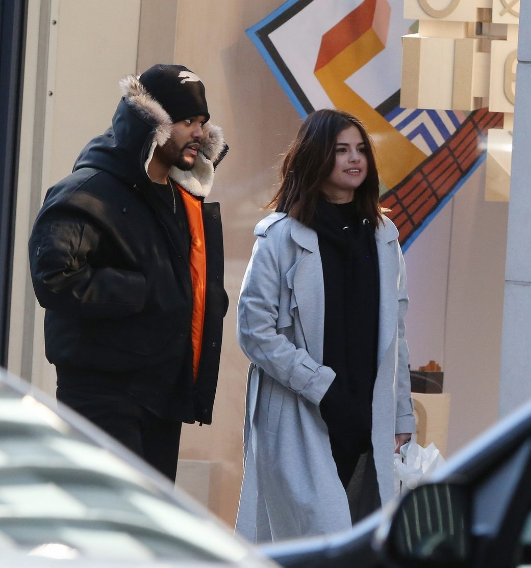 SELENA Gomez and The Weeknd: PDA on Full DISPLAY in Toronto! image