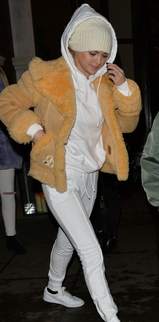 SELENA GOMEZ is Winter-Ready in London! image