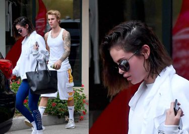 Justin Bieber and Selena Gomez PILATES In-Session!