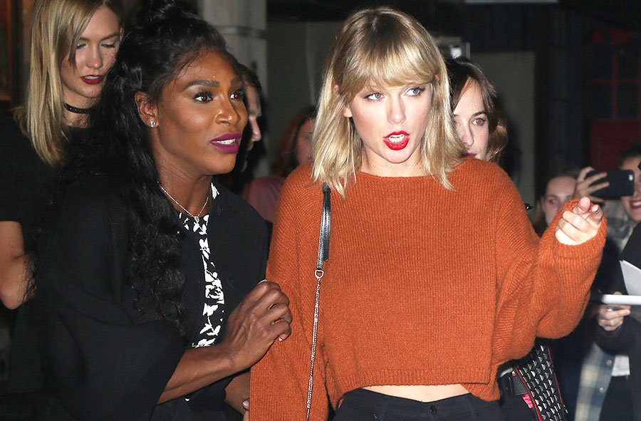 Serena Williams is Now a Member of Taylor Swift's SQUAD image