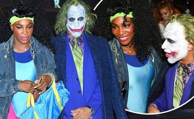 What a PRO: Serena Williams' First Time in Public With Lewis Hamilton ON HALLOWEEN