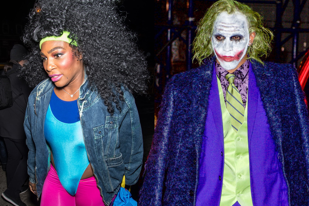 What a PRO: Serena Williams' First Time in Public With Lewis Hamilton ON HALLOWEEN image