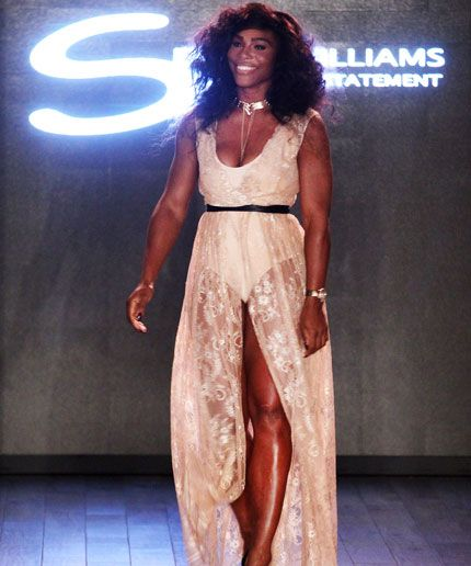 Serena Williams Debuts HSN Collection at NYFW image