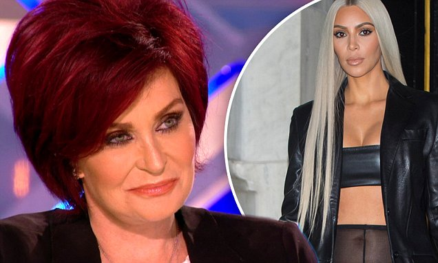 Sharon Osbourne Hates on KIM KARDASHIAN AGAIN! image