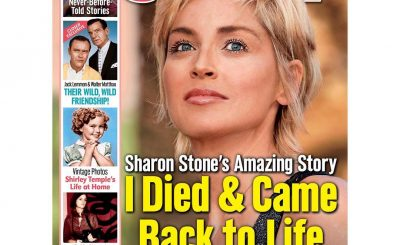 There and Back Again: Sharon Stone Claims to Have Died Once