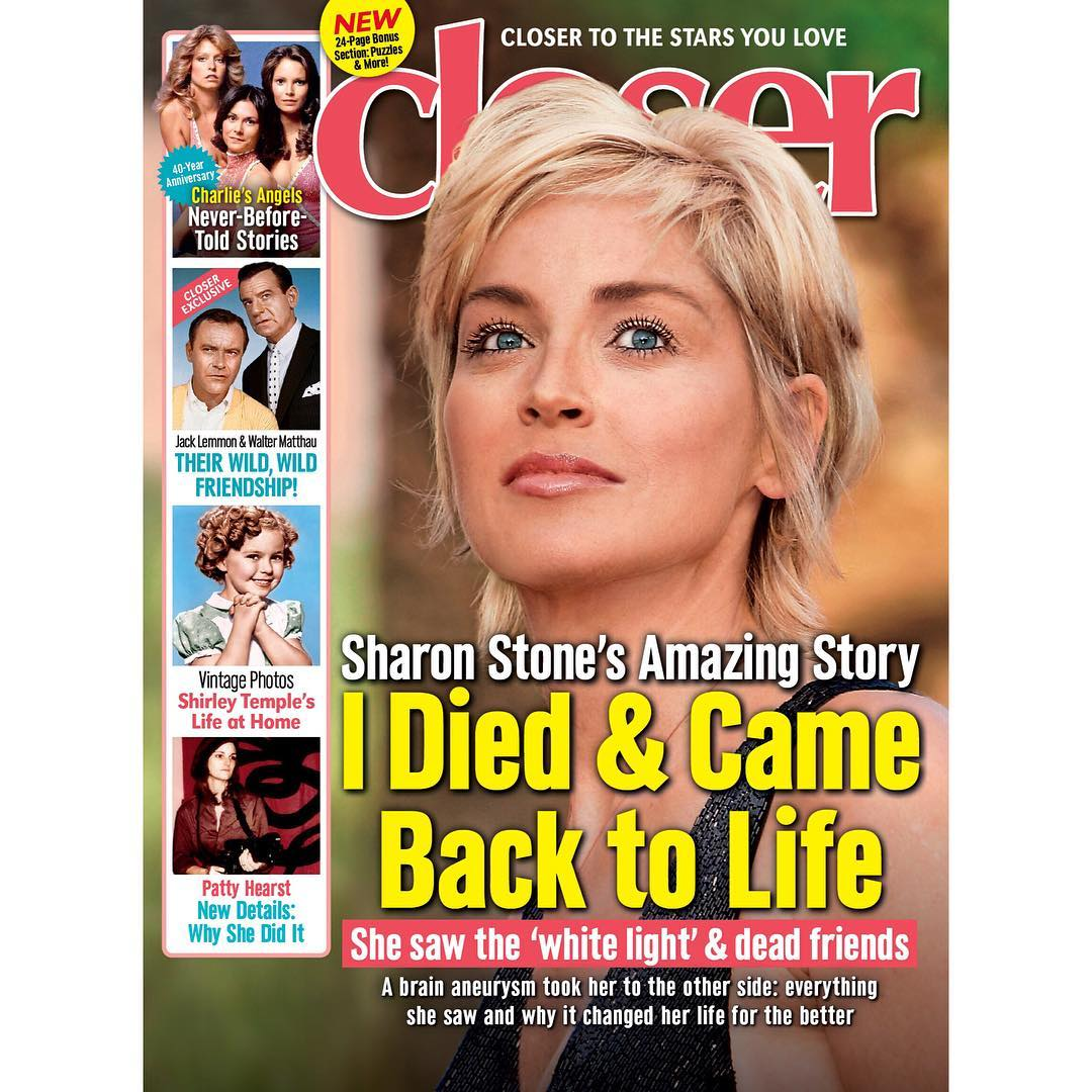 There and Back Again: Sharon Stone Claims to Have Died Once image