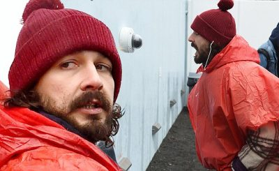 Watch Shia LaBeouf Get ARRESTED At Trump Protest