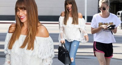 Sofia Vergara Changes Her Outfit THREE TIMES A Day!