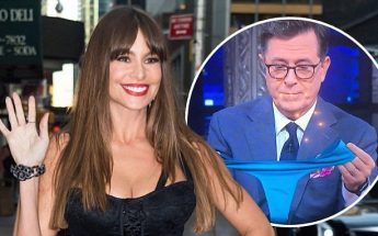 Sofia Vergara Talks About New PANTY Business On 'Late Show'