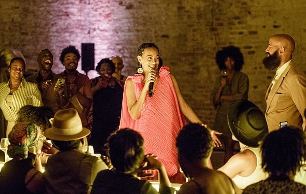 Solange Knowles Throws SEAT AT THE TABLE Listening Party in New Orleans image