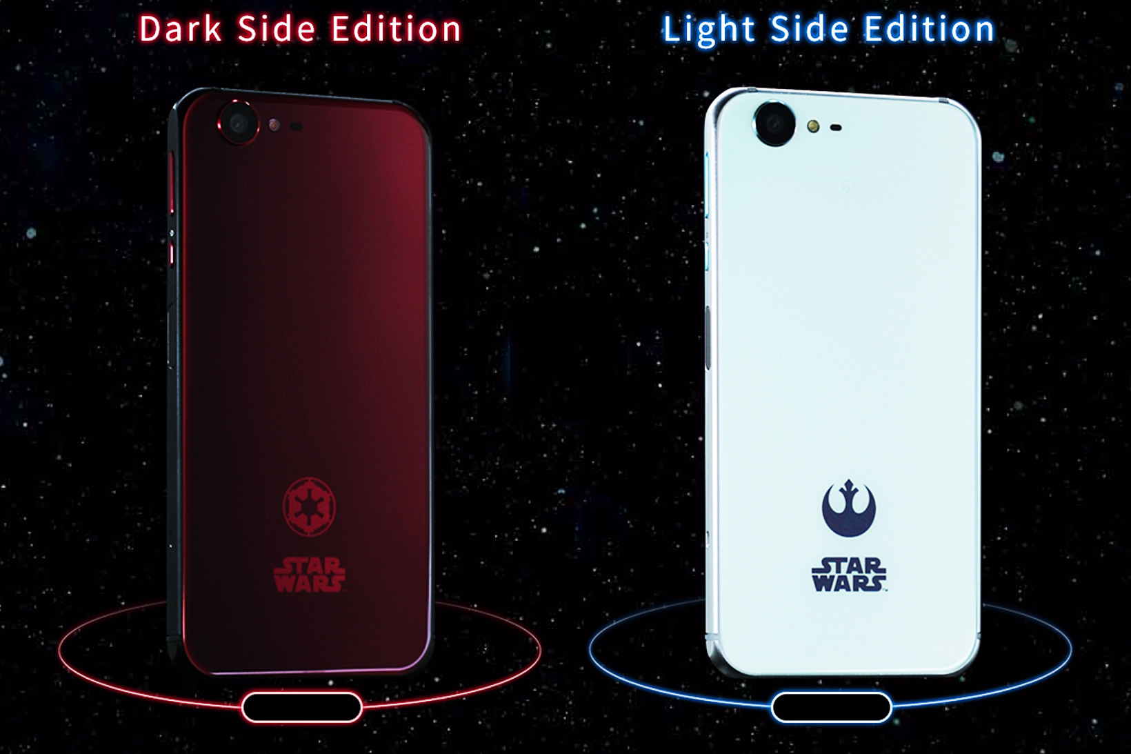 SHARP Japan Release 'STAR WARS' Smartphones, Better Than an iPhone or Galaxy! image