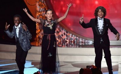 STRANGE KIDS: STRANGER THINGS Children Perform 'Uptown Funk' at Emmys 2016