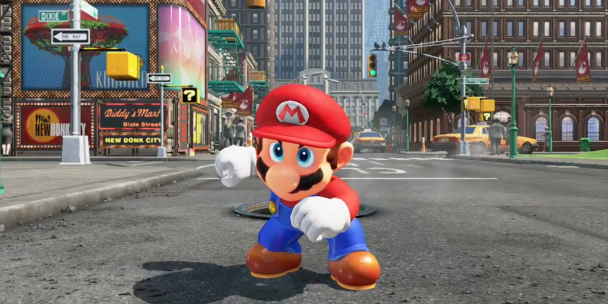 'SUPER MARIO ODYSSEY' is the New Super Mario World Game From Nintendo!