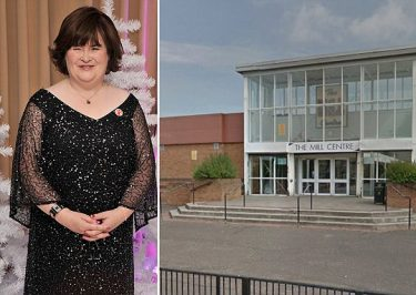 Susan Boyle ATTACKED By Teens at a Shopping Mall!