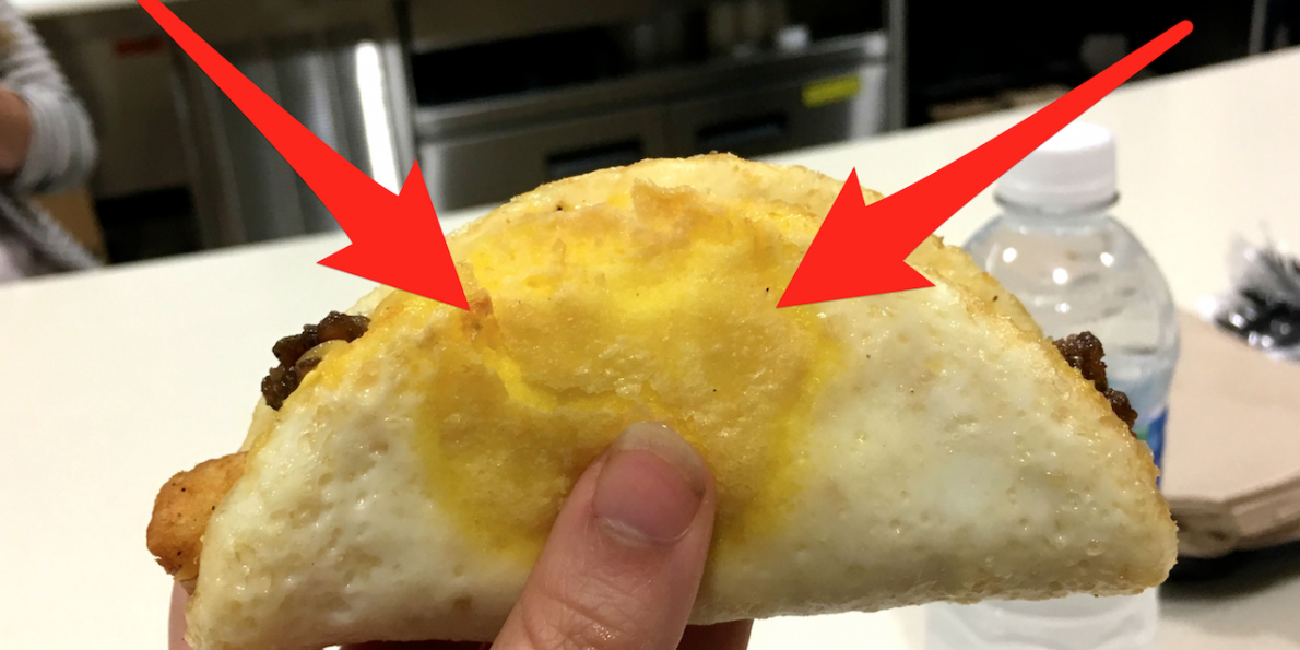 Taco Bell Introduce FRIED EGG Shell!