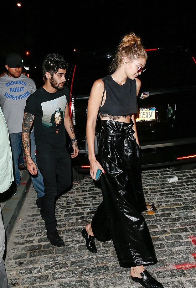 Swift's on a THIRD WHEEL: Taylor Swift's Night on the Town With Zayn Malik & Gigi Hadid! image
