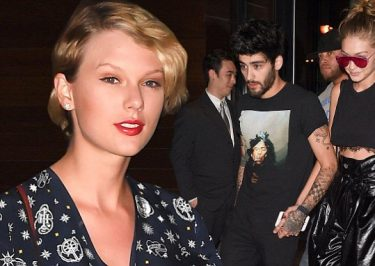 Swift's on a THIRD WHEEL: Taylor Swift's Night on the Town With Zayn Malik & Gigi Hadid!