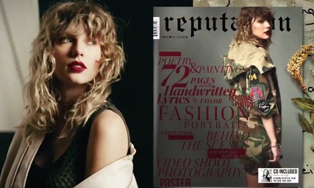 Taylor Swift Sells 700,000 Units of 'Reputation' in First 24 Hours image