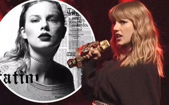 Taylor Swift Shares North American Tour Dates for REPUTATION!