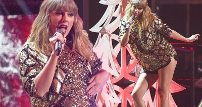 Taylor Swift Performs 'End Game' at JINGLE BALL