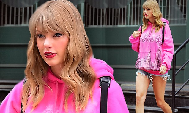 Taylor Swift Says She Loves NYC Through Her Clothes! image