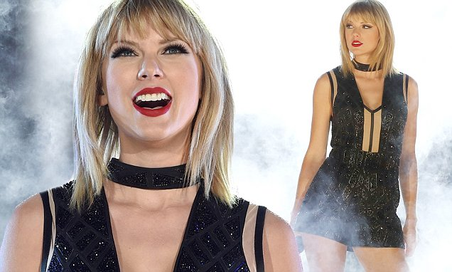 Taylor Swift Performs 'This is What You Came For' By Calvin Harris at Formula One Show - Her ONLY Concert This Year! image