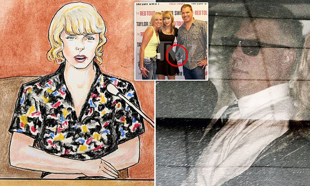 "Taylor Swift Testifies In Court Against DJ: ""HE Grabbed My Bare Ass Cheek!"" image"