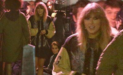 Taylor Swift Secretly Films a Music Video in LONDON Kebab Shop!
