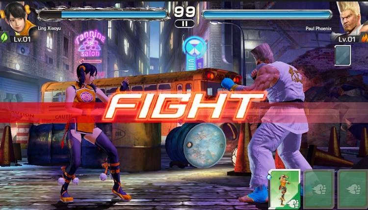 TEKKEN Available on iOS and Android