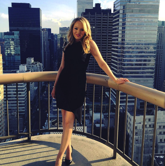 Tiffany Trump Working Towards Taking the LSAT image