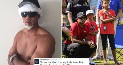 Tiger Woods Tweets Out  Nude Photo, Calls Himself 'MAC DADDY'!